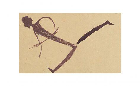 Arquero de una agrupación de figuras arrancadas