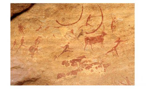 Pintures rupestres de Tassili