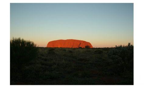 Vista d'Uluru