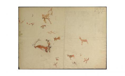 Fragmentos de escenas de caza